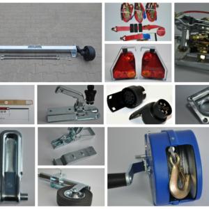 Дополнительное оборудование и запчасти для легковых прицепов